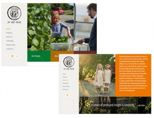 Profound Microfarms Website