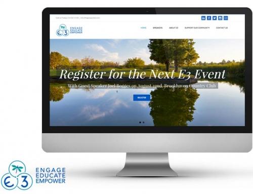 E3 Website and Branding