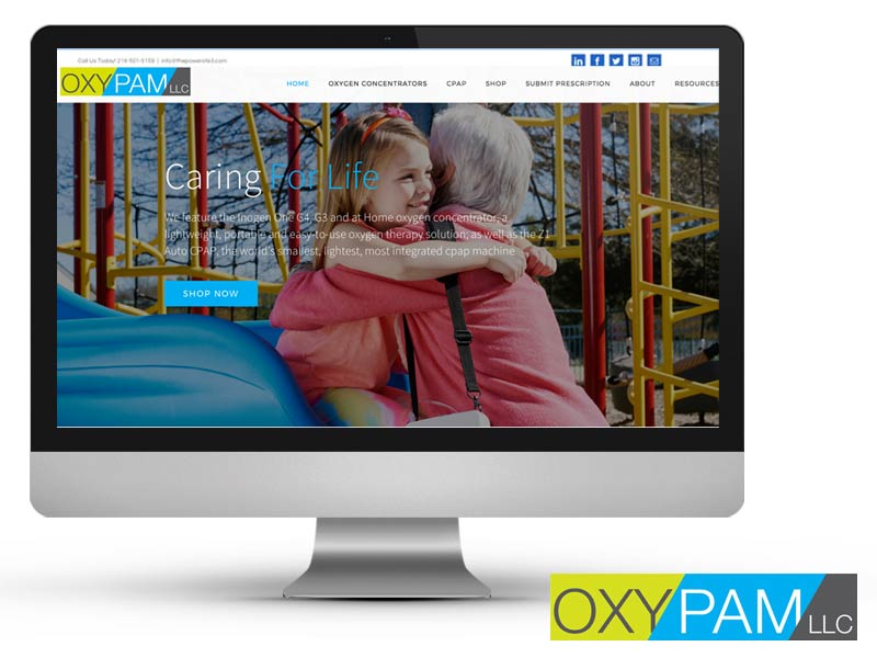 OxyPam Brand and Website