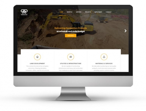 DDM Construction Website Project