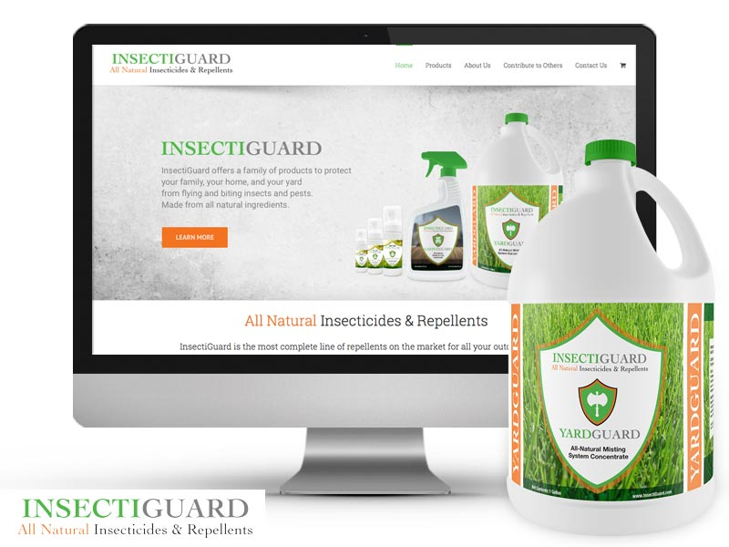 Insectiguard Brand, Products and E-Commerce Website